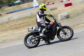 riding harley davidson s xg750r flat track motorcycle feature