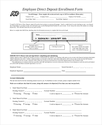 How To Fill Out Direct Deposit Form Ach Direct Deposit Form Under Fontanacountryinn Com