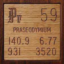 Facts, pictures, stories about the element Praseodymium in the ...