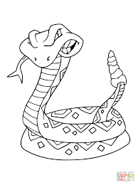 Rattlesnake coloring pages photo 21