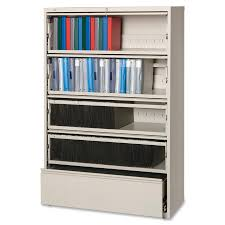 Lorell Lateral File Cabinet Lorell Receding Lateral File With Roll Out Shelves Mac Papers Inc