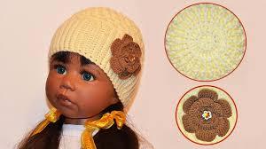 Мастер класс по вязанию <b>шапки</b> крючком. DIY crochet <b>hat</b> - YouTube