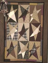 Carson's Courtyard | Primitive quilts, Primitives and Magazines & Primitive Star Quilt Buggy Barn pattern - a favorite for years. Adamdwight.com