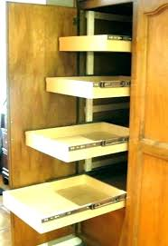 kitchen cabinet sliding shelves pantry pull out ides drawers kitchen cabinet drawer hardware cabinets iding shelves