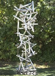 metal art garden pics