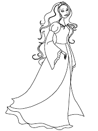 Irish Princess Girl Coloring Pages Coloring Page Book For Kids