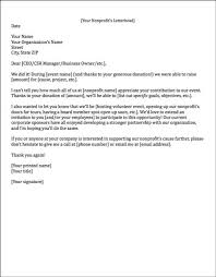letter asking for donations from businesses sponsorship letters write great proposals with 12 templates
