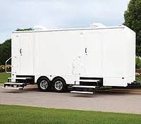 bathroom trailers. 6 Station | Portable Restroom Trailer Bathroom Trailers