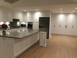 White Kitchen Laminate Flooring Finally My Very Own Kitchen That I Love White High Gloss Handle