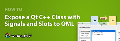 How To Expose A Qt C Class With Signals And Slots To Qml