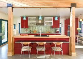 blue glass pendant lighting retro kitchen island fresh modern blue glass pendant lights over red gloss