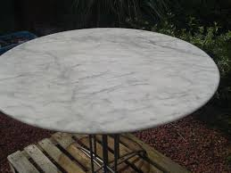 marble outdoor dining table carrara marble vintage  round dining table indoor or outdoor pizza exp