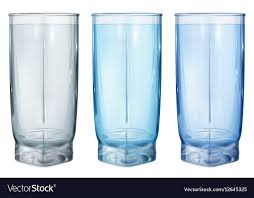 three opaque glass for juice vector image