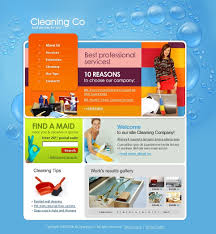 cleaning flash template