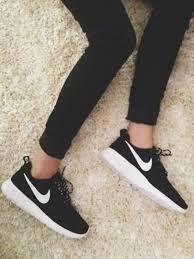 nike running shoes for girls black and white. nike roshe womens running shoes black white for girls and l