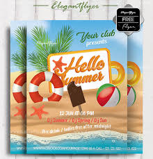 Free Downloadable Flyers Templates 20 Free Downloadable Summer Flyer Psd Templates 2018 By
