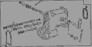 selective control valve overhaul kit f tractor john deere list of spare parts