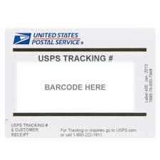 usps tracking label usps