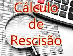 cálculo de rescisão calculadora