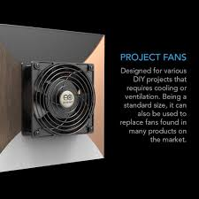 Home Theater Cabinet Fan Amazoncom Ac Infinity Axial 1225 Muffin Cooling Fan 115v Ac