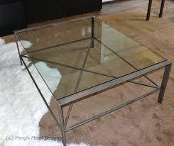 iron glass coffee table custom coffee table glass top coffee tables wrought iron base