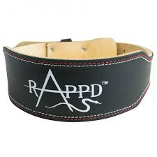 product home rappd 4 pro series leather weight lifting belt