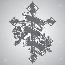 rose and ribbon tattoo designs. Throughout Rose And Ribbon Tattoo Designs