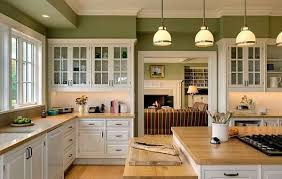 Beautiful Kitchens With White Cabinets And Green Walls Kitchen I To Ideas