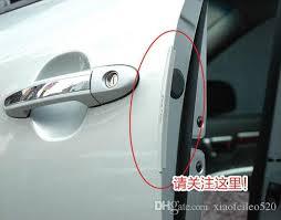 2018 auto car door guard edge corner per guards buffer trim molding protection strip scratch protector car door crash bar from xiaofeileo520