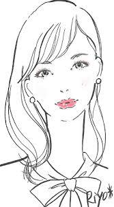 画像かわいく明るくクールになりたい顔別秋のリップアイメイク