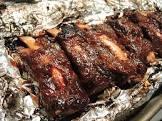 beef ribs dry rub roasted