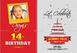 Birthday Invitation Card Templates Free Download Enchanting Birthday Invitation Template 48 Free Word PDF PSD AI Format