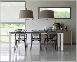 dining room modern designs tables ideas glass table fur rug pendant lamps stained wall chairs wooden