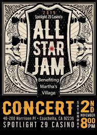 All Star Jam Concert Marthas Village And Kitchen