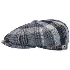 Stetson Hatteras Woolrich Classic Flat Cap Men Made In The