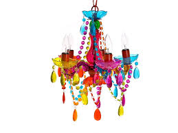well liked silly lamp 5 arms chandelier gypsy small multi colour pertaining