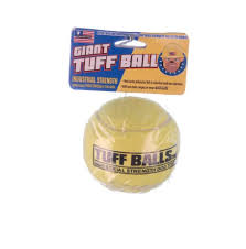 dels about giant tuff ball for big dog toy colors may vary 4 d heavy duty