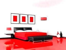 Lovely Red And Black Bedroom For Enchanting Romantic Red And Black ...