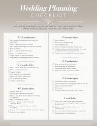 My Wedding Planner Timelines Planning Guides