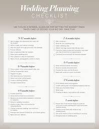 Wedding Coordinator Checklist My Wedding Planner Timelines Planning Guides