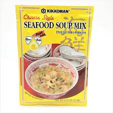 Kikkoman Chinese Style Seafood Soup Mix ...