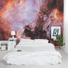 space bedroom wall mural bedroom design ideas