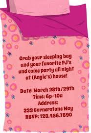 free sleepover invitation templates free printable sleepover invitation templates download them or print