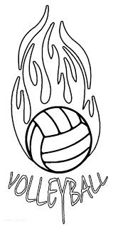 Volleyball Color Pages Fascinating Sports Coloring Pages Remarkable Volleyball Coloring