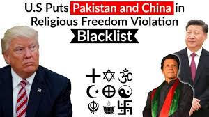Image result for pakistan added to us blacklist over religious freedom concerns