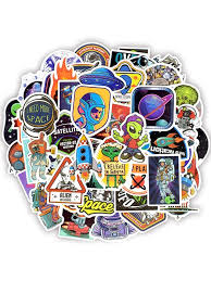 Buy 50Pcs/<b>100Pcs</b> Cartoon Fantasy Spaceship Alien UFO <b>Series</b> ...