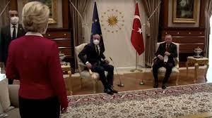Ursula von der Leyen muss bei Erdogan abseits auf Sofa sitzen