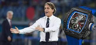 The Half-Million-Euro Watch of Italian Coach Roberto Mancini: RM 11-04  Automatic Flyback Chronograph
