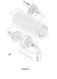 2000 suzuki rm250 rm250y clutch parts best oem clutch