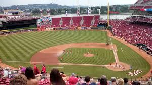 Reds Seating Chart Mezzanine Great American Ball Park Section 419 Cincinnati Reds